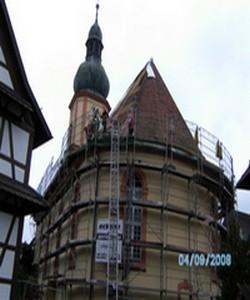 Dachdecker Reparaturarbeiten