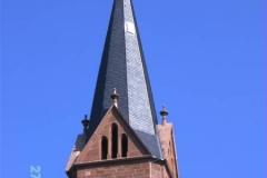 Dachdecker Referenzprojekte Turmdeckung Stiftskirche Lahr