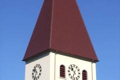 Referenzprojekte Ziegel und Betondachsteindeckung Kirche Obersasbach